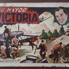 Tebeos: HAZAÑAS BÉLICAS - Nº27 - SU MAYOR VICTORIA - TORAY - 1951. Lote 196198743