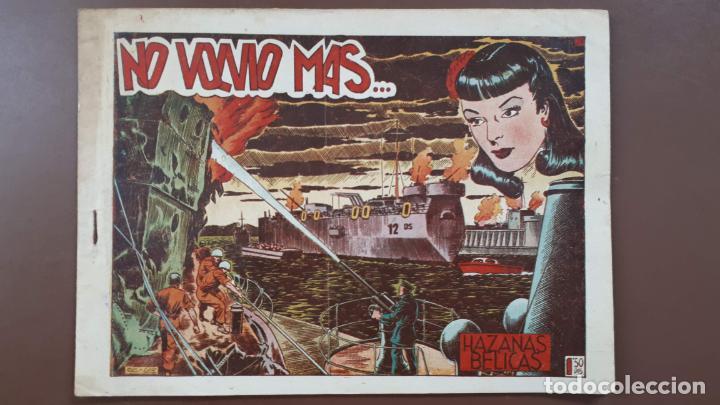 HAZAÑAS BÉLICAS - Nº24 -NO VOLVIÓ MÁS... - TORAY - 1951 (Tebeos y Comics - Toray - Hazañas Bélicas)