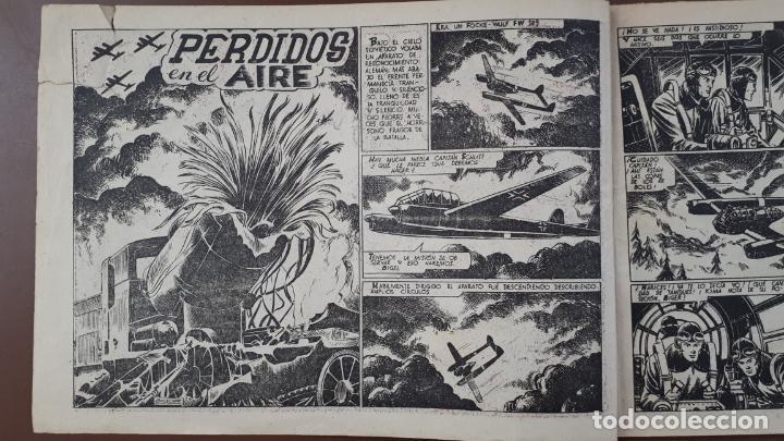 Tebeos: Hazañas Bélicas - Nº23 -Perdidos en el aire - Toray - 1951 - Foto 2 - 196199990
