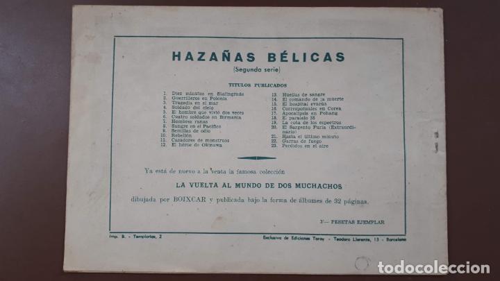 Tebeos: Hazañas Bélicas - Nº23 -Perdidos en el aire - Toray - 1951 - Foto 7 - 196199990