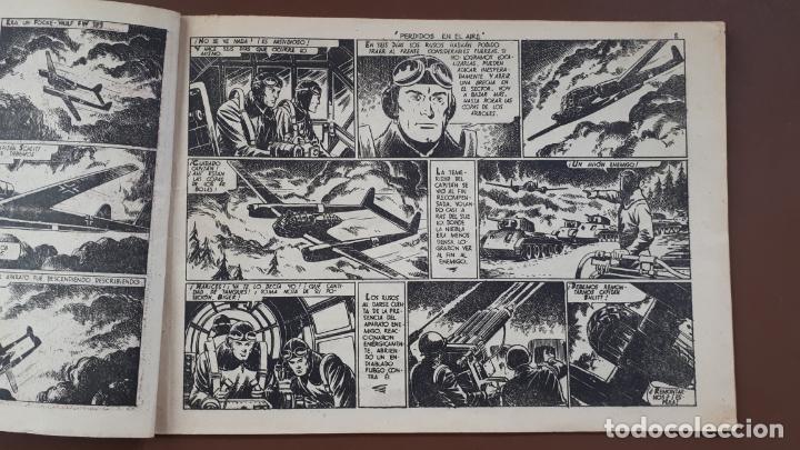 Tebeos: Hazañas Bélicas - Nº23 -Perdidos en el aire - Toray - 1951 - Foto 3 - 196199990
