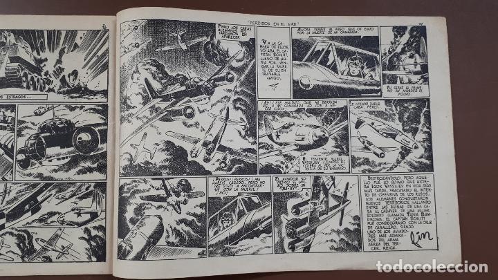 Tebeos: Hazañas Bélicas - Nº23 -Perdidos en el aire - Toray - 1951 - Foto 6 - 196199990
