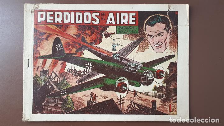 HAZAÑAS BÉLICAS - Nº23 -PERDIDOS EN EL AIRE - TORAY - 1951 (Tebeos y Comics - Toray - Hazañas Bélicas)