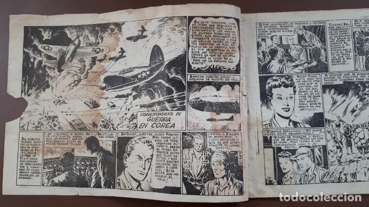 Tebeos: Hazañas Bélicas - Nº16 -Corresponsales de guerra en Corea - Toray - 1950 - Foto 2 - 196200396