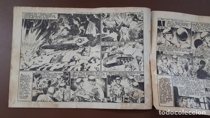 Tebeos: Hazañas Bélicas - Nº16 -Corresponsales de guerra en Corea - Toray - 1950 - Foto 5 - 196200396