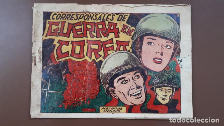 HAZAÑAS BÉLICAS - Nº16 -CORRESPONSALES DE GUERRA EN COREA - TORAY - 1950 (Tebeos y Comics - Toray - Hazañas Bélicas)