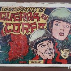 Tebeos: HAZAÑAS BÉLICAS - Nº16 -CORRESPONSALES DE GUERRA EN COREA - TORAY - 1950. Lote 196200396