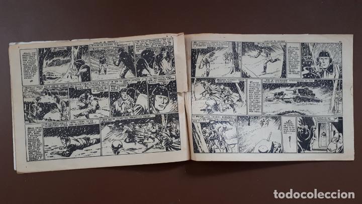 Tebeos: Hazañas Bélicas - Nº13 - Huellas de sangre - Toray - 1950 - Foto 3 - 196200921