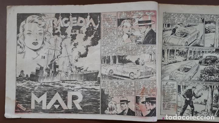 Tebeos: Hazañas Bélicas - Nº3 - Tragedia en el mar - Toray - 1950 - Foto 2 - 196201497