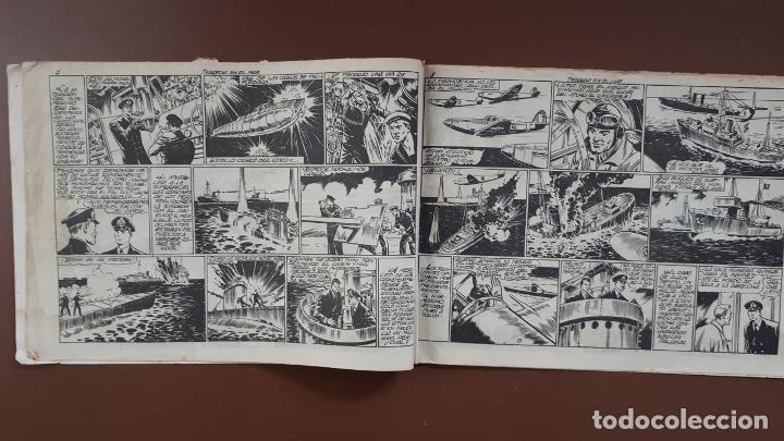 Tebeos: Hazañas Bélicas - Nº3 - Tragedia en el mar - Toray - 1950 - Foto 4 - 196201497
