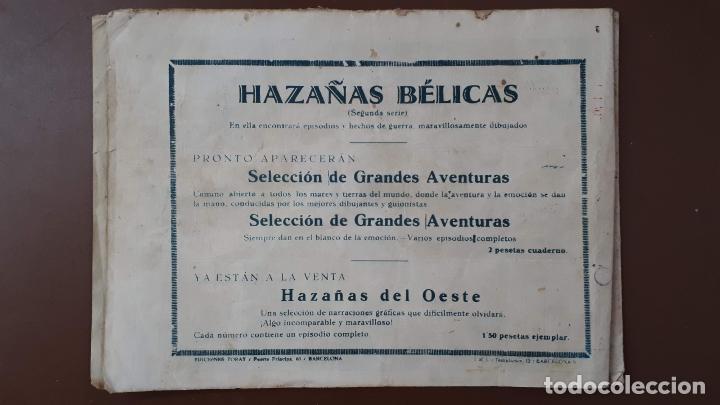 Tebeos: Hazañas Bélicas - Nº3 - Tragedia en el mar - Toray - 1950 - Foto 8 - 196201497