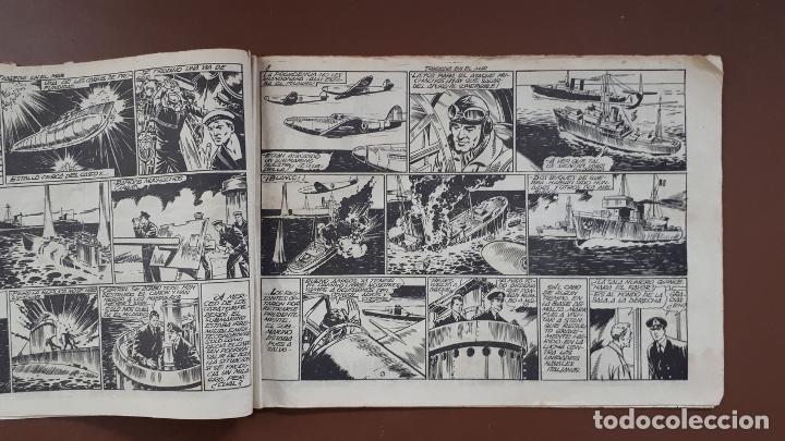 Tebeos: Hazañas Bélicas - Nº3 - Tragedia en el mar - Toray - 1950 - Foto 5 - 196201497