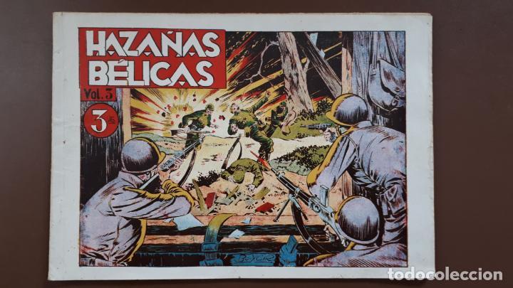 HAZAÑAS BÉLICAS - VOL.3 - TORAY - 1950 (Tebeos y Comics - Toray - Hazañas Bélicas)