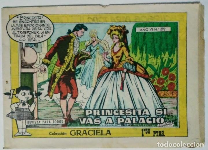 Tebeos: Graciela El collar de perlas nº 140 y princesita si vas a palacio nº 292 Toray espirituazul - Foto 4 - 195027208