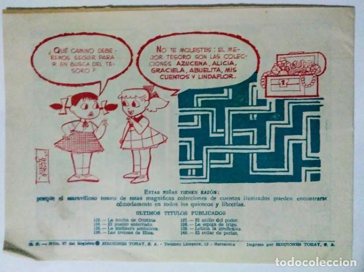 Tebeos: Graciela El collar de perlas nº 140 y princesita si vas a palacio nº 292 Toray espirituazul - Foto 3 - 195027208