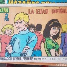 Tebeos: AZUCENA LA EDAD DIFICIL. Lote 196348873