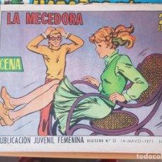 Tebeos: AZUCENA LA MECEDORA. Lote 196348915