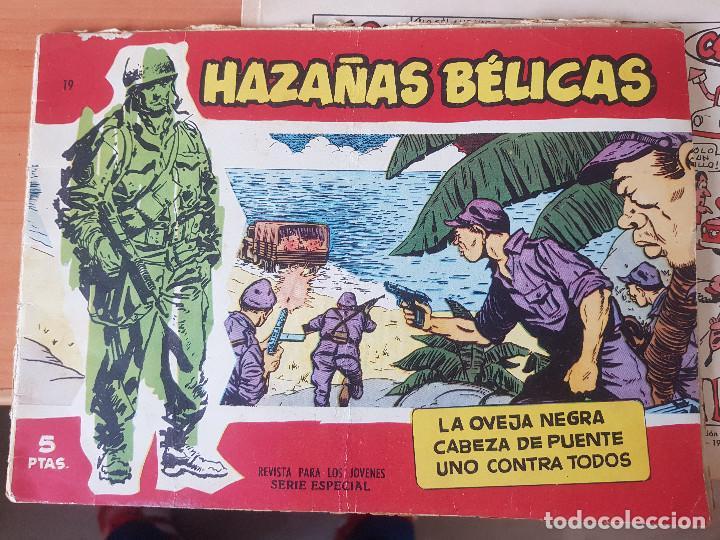 HAZAÑAS BELICAS NUMERO 19 (Tebeos y Comics - Toray - Hazañas Bélicas)