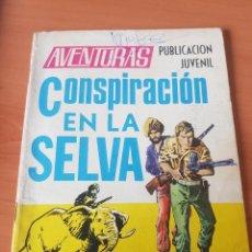Tebeos: AVENTURAS CONSPIRACION EN LA SELVA. Lote 196352107