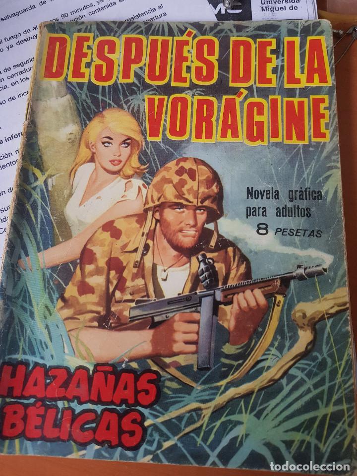 HAZAÑAS BELICAS DESPUES DE LA VORAGINE (Tebeos y Comics - Toray - Hazañas Bélicas)