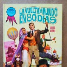 Tebeos: LA VUELTA AL MUNDO EN 80 DÍAS, POR JULIO VERNE (TORAY, 1985). COLECCIÓN GRANDES AVENTURAS N°1.. Lote 196610208