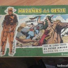 Tebeos: HAZAÑAS DEL OESTE Nº 44 ULTIMO NÚMERO (TORAY) (COIB62). Lote 196638717