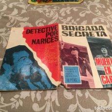 Tebeos: BRIGADA SECRETA- Nº 169 - MUERTE EN EL CARIBE - TORAY 1966. Lote 197279533