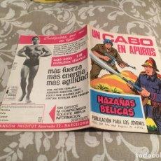 Tebeos: HAZAÑAS BELICAS,GORILA Nº 289 - UN CABO EN APUROS, EDICIONES TORAY 1969. Lote 197279802