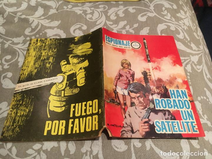 ESPIONAJE Nº 58 ,HAN ROBADO UN SAYELITE - TORAY, 1967 (Tebeos y Comics - Toray - Espionaje)