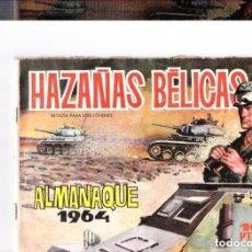 Tebeos: HAZAÑAS BELICAS ALMANAQUE 1964. Lote 197298275