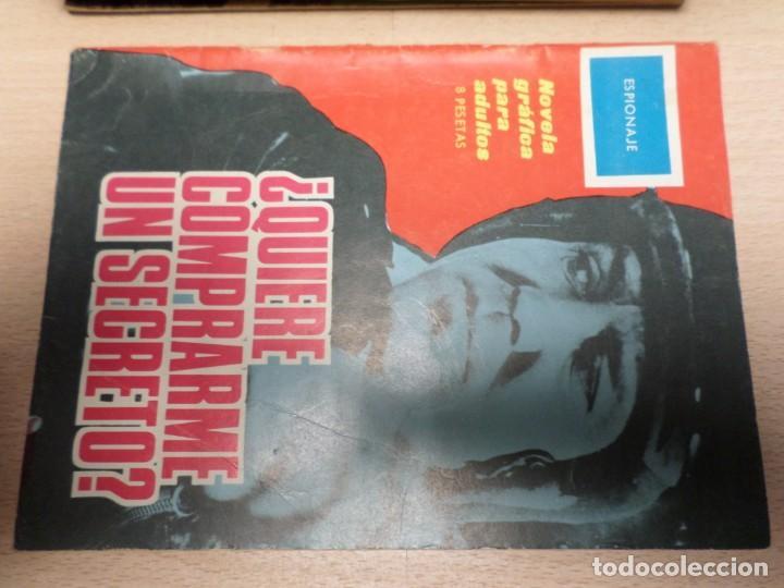 COLECCIÓN ESPIONAJE - TORAY - Nº 16 - ¿QUIERE COMPRARME UN SECRETO? (Tebeos y Comics - Toray - Espionaje)
