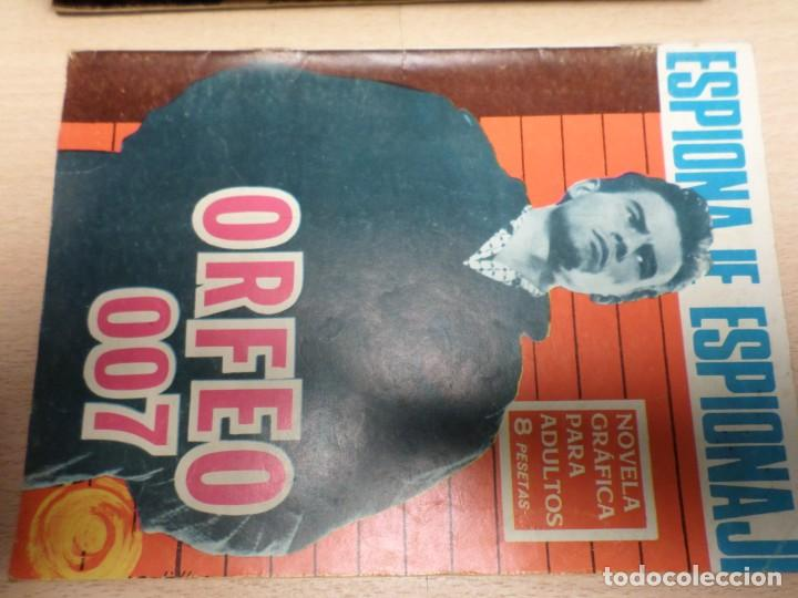 COLECCIÓN ESPIONAJE - TORAY - Nº 44 - ORFEO 007 (Tebeos y Comics - Toray - Espionaje)