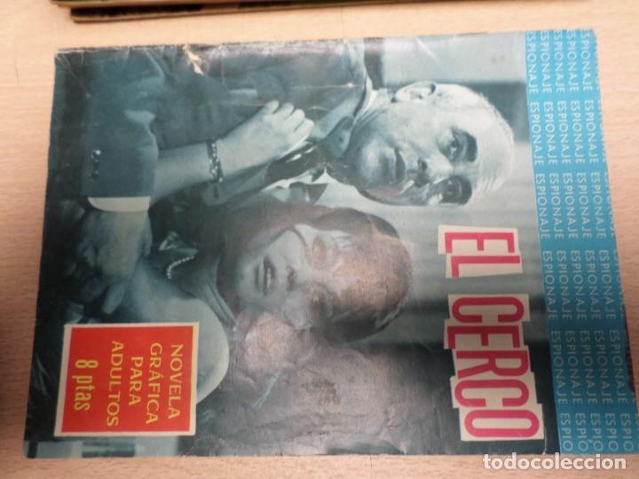 COLECCIÓN ESPIONAJE - TORAY - Nº 27 - EL CERCO (Tebeos y Comics - Toray - Espionaje)