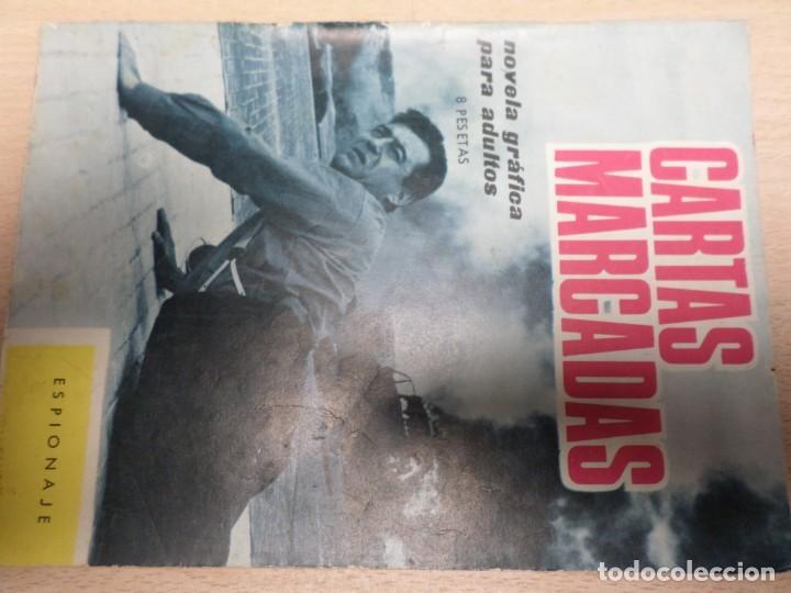COLECCIÓN ESPIONAJE - TORAY - Nº 13 - CARTAS MARCADAS (Tebeos y Comics - Toray - Espionaje)