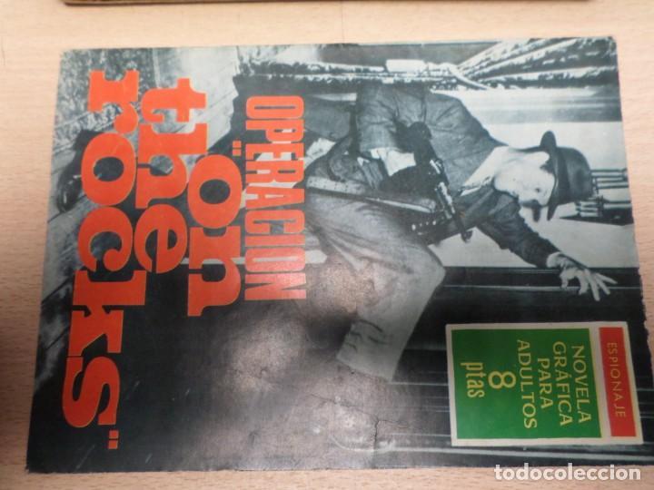 COLECCIÓN ESPIONAJE - TORAY - Nº 31 - OPERACION ON THE ROCKS (Tebeos y Comics - Toray - Espionaje)