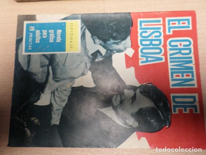 COLECCIÓN ESPIONAJE - TORAY - Nº 10 - EL CRIMEN DE LISBOA (Tebeos y Comics - Toray - Espionaje)