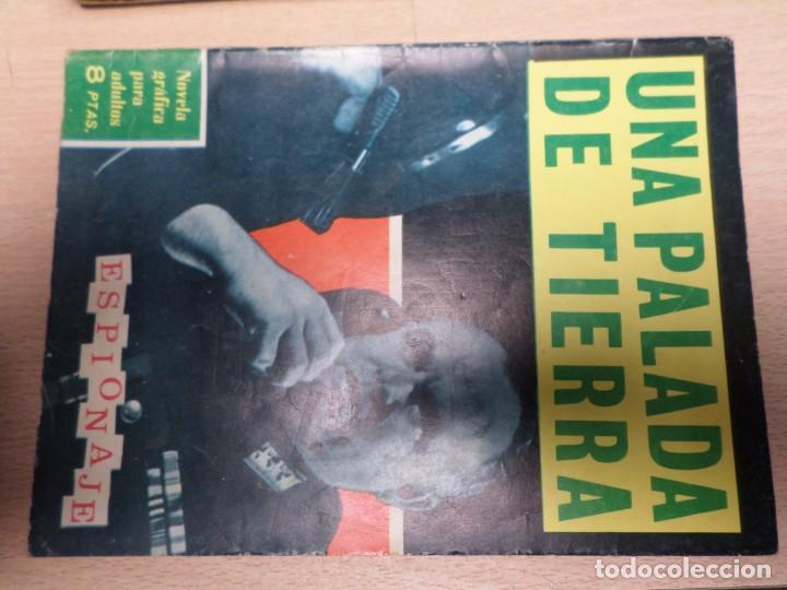 COLECCIÓN ESPIONAJE - TORAY - Nº 20 - UNA PALADA DE TIERRA (Tebeos y Comics - Toray - Espionaje)