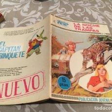 Tebeos: COLECCION LEOPARDO. Nº7. LA NOCHE DE LAS TRAMPAS. TORAY 1970 . Lote 197402000