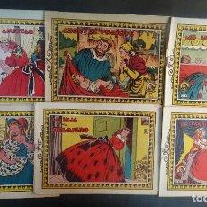 Tebeos: LOTE DE 6 ANTIGUOS TEBEOS COLECCIÓN AZUCENA , VER FOTOS. Lote 197427950