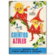 Tebeos: CUENTOS AZULES Nº 4 TORAY EUGENIO SOTILLOS. Lote 197714168