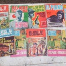 Tebeos: RELATOS DE GUERRA 13 TOMOS, 2 REPETIDOS. Lote 197825180