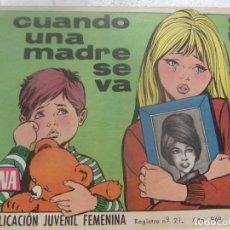 Tebeos: REVISTA JUVENIL FEMENINA AZUCENA NUM 1045- CUANDO UNA MADRE SE VA. Lote 197882228