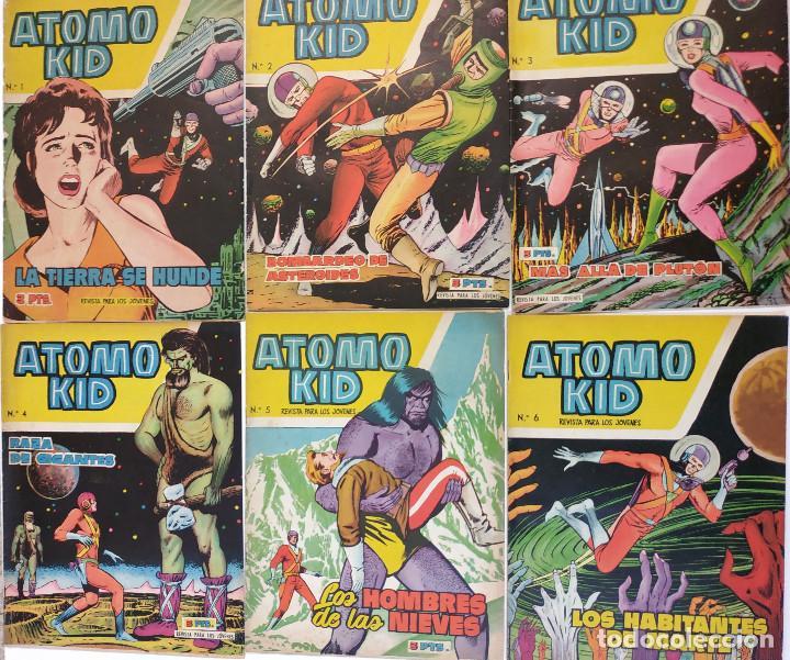 ÁTOMO KID (ED. TORAY), AÑO 1957 COLECCIÓN COMPLETA 16 EJ. (Tebeos y Comics - Toray - Otros)
