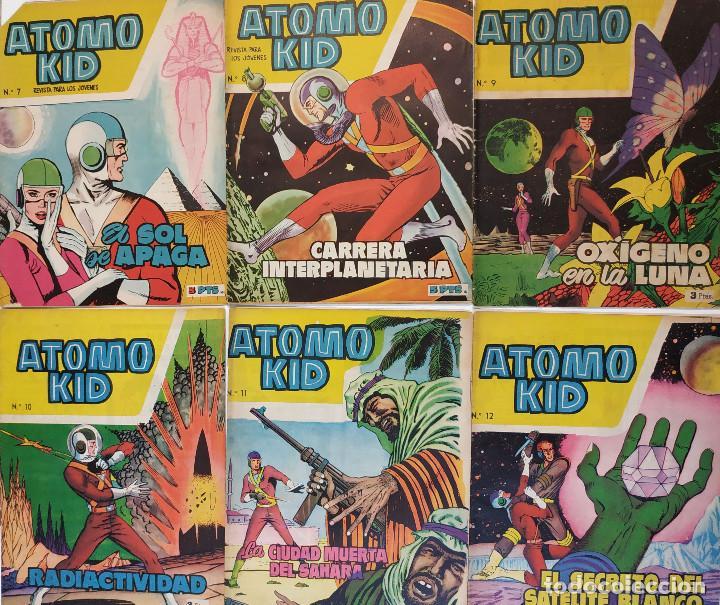 Tebeos: Átomo Kid (Ed. Toray), Año 1957 Colección Completa 16 ej. - Foto 2 - 197898817