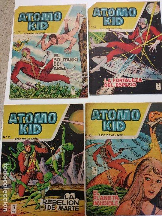 Tebeos: Átomo Kid (Ed. Toray), Año 1957 Colección Completa 16 ej. - Foto 3 - 197898817