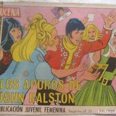 Tebeos: REVISTA JUVENIL FEMENINA AZUCENA NUM 1056- LOS APUROS DE JOHN RALSTON. Lote 197939002