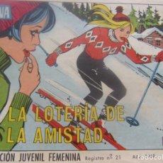 Tebeos: REVISTA JUVENIL FEMENINA AZUCENA NUM 1066- LA LOTERÍA DE LA AMISTAD. Lote 197941882
