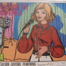 Tebeos: REVISTA JUVENIL FEMENINA AZUCENA NUM 1070- SUEÑOS DE JÓVENES. Lote 197943408