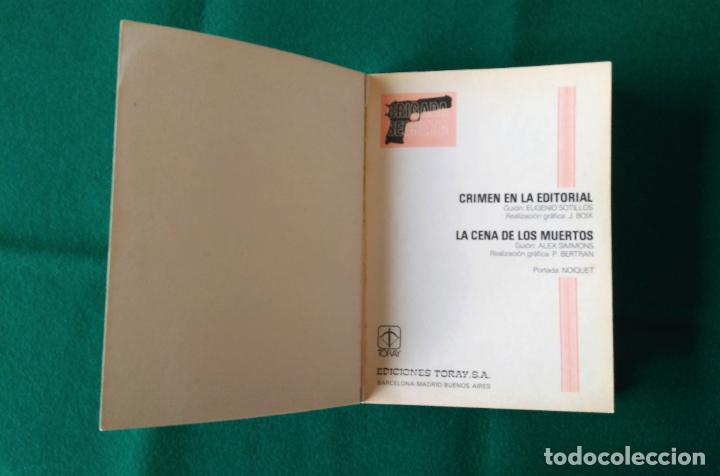 Tebeos: BRIGADA SECRETA - Nº 1 - CRIMEN EN LA EDITORIAL - LA CENA DE LOS MUERTOS - TORAY - AÑO 1982 - Foto 5 - 198038163