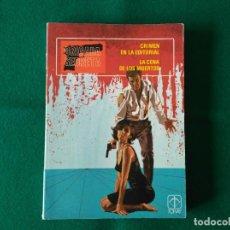 Tebeos: BRIGADA SECRETA - Nº 1 - CRIMEN EN LA EDITORIAL - LA CENA DE LOS MUERTOS - TORAY - AÑO 1982. Lote 198038163